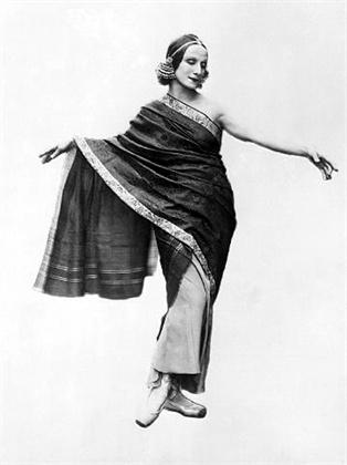Anna Pavlova en India 1923 Mumbai. Foto: Bettman | CORBIS