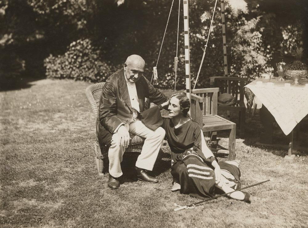 Anna Pavlova y Enrico Cecchetti en Ivy House en Londres.