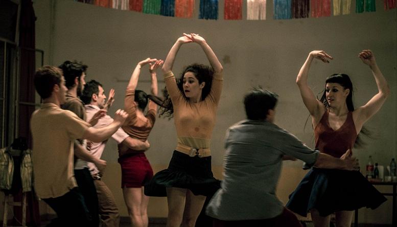 """""""Villa Argüello"""", en encuentro entre la danza contemporánea y el cuarteto. Foto por Matías G."""