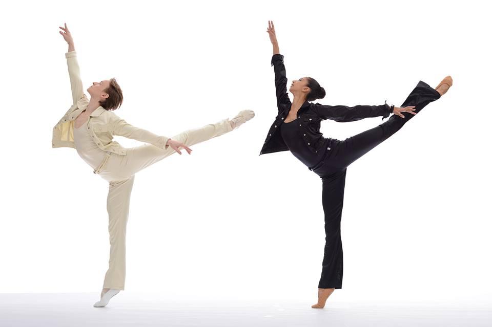 Daniil Simkin y Alicia Graf Mack en Pas de Duke. Ph: Jade Young.