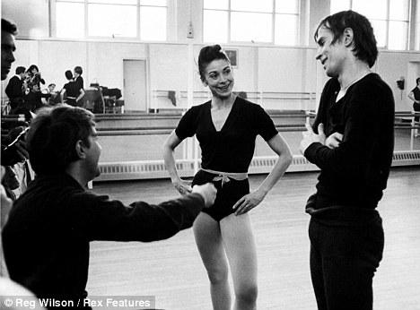 Margot Fonteyn y Nureyev. Foto: Reg-Wilson-Rex Features.