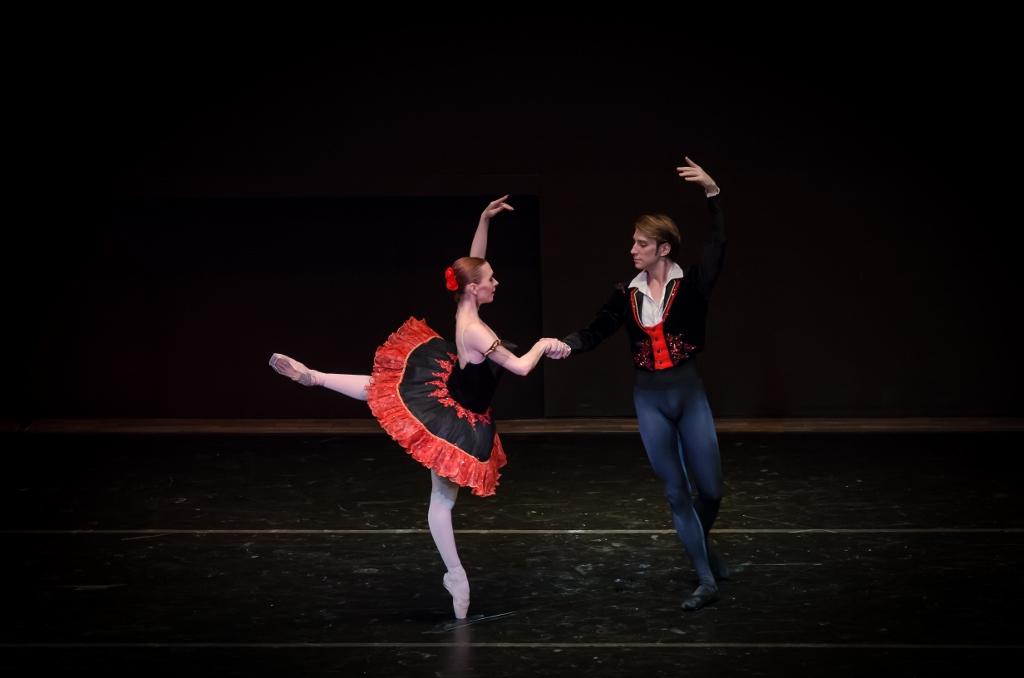 """Federico Fernández y Julieta Paul, en """"Don Quijote"""". Foto: Carlos Villamayor."""