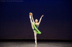 """Daiana Alvarez, de Bahía Blanca, como """"La Esmeralda"""". Foto: Taylor Brandt. All rights reserved."""