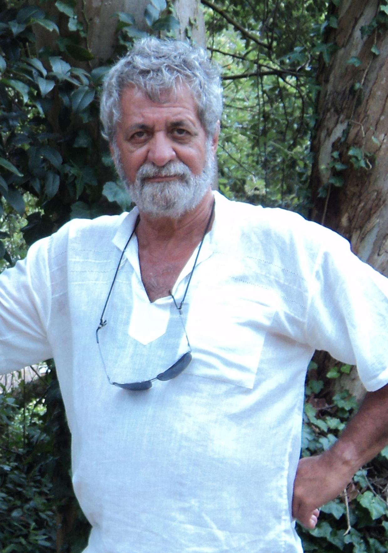 """Adhemar Bianchi, uno de los hacedores del proyecto """"Carrusel de las Artes"""". Foto: Gentileza."""
