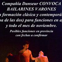 Danseur convocatoria varones