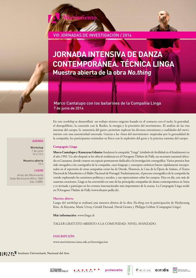 Revol – Revista de Danza | Taller Cia Linga