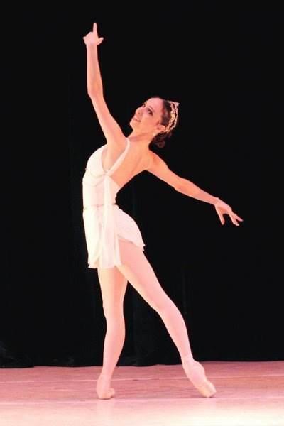 """""""En Argentina y en Brasil los bailarines tienen muchas ganas de bailar"""", dice Claudia. Foto: Gentileza Claudia Mota."""