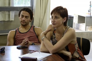Cristina Gómez Comini, en el Foro Internacional de Danza de San Pablo. Foto: Prensa CNDC.