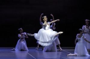 """""""La Sylphide"""", es Julieta Paul. Foto: Guillermo Genitti."""
