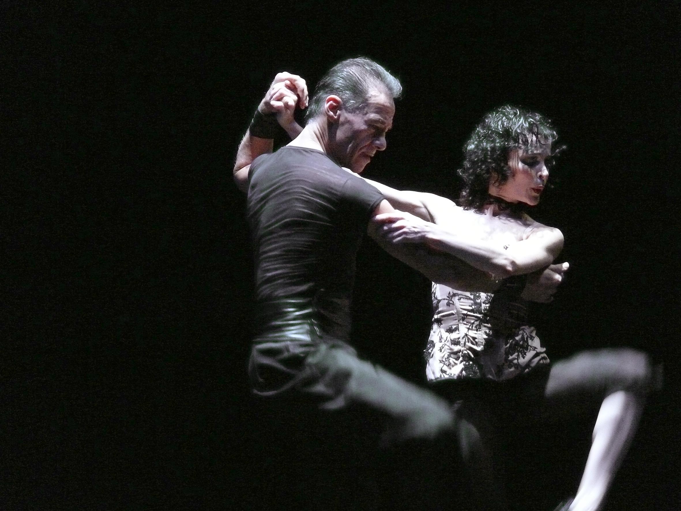 """Stekelman: """"No se puede aprender a bailar en dos semanas"""". Foto: Adriana Argalia."""