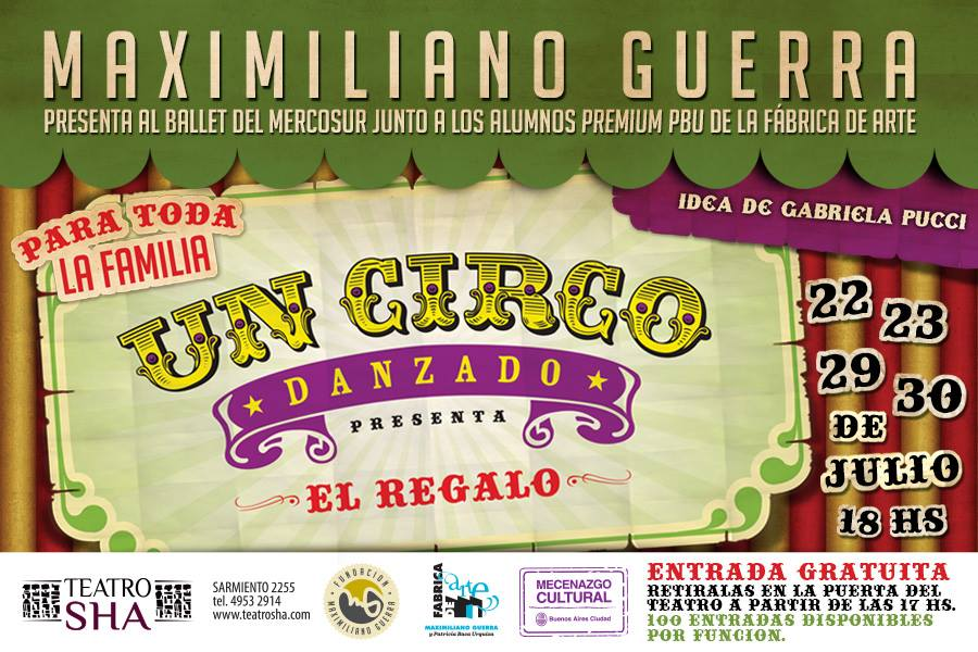 Afiches 100 entradas en la puerta Fundacion Maxi Guerra