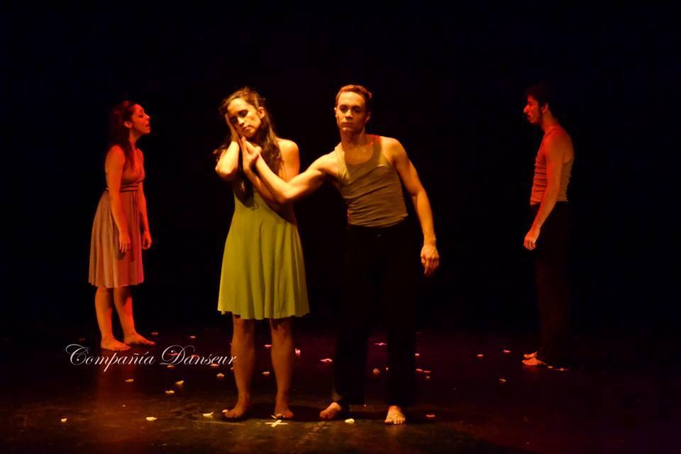 """""""Ámame"""", primera obra de Danseur, compañía creada por Victoria Mazari. Foto: Gentileza Danseur."""
