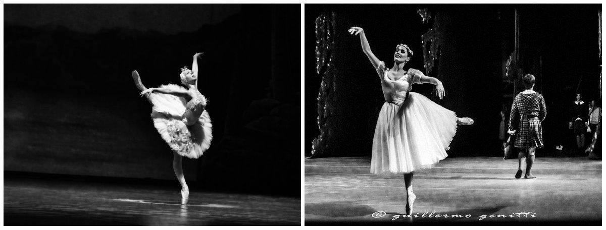 Julieta Paul y Elizabeth Antúnez, del Ballet del Teatro Argentino de La Plata. Fotos: Guillermo Genitti | Gentileza Arte y Cultura.