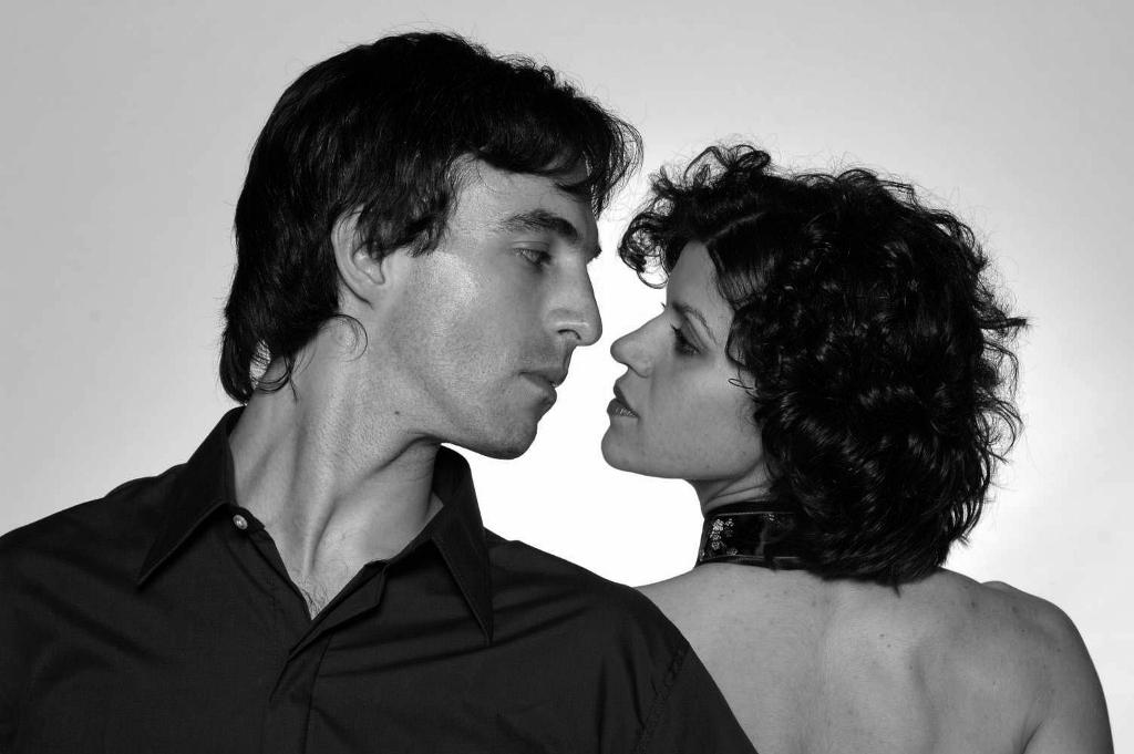 Sonia Nocera y Juan Manuel Martínez, una pareja de bailarines que se encontró a mitad de camino de sus aproximaciones artísticas a través del tango. Foto: Gentileza.