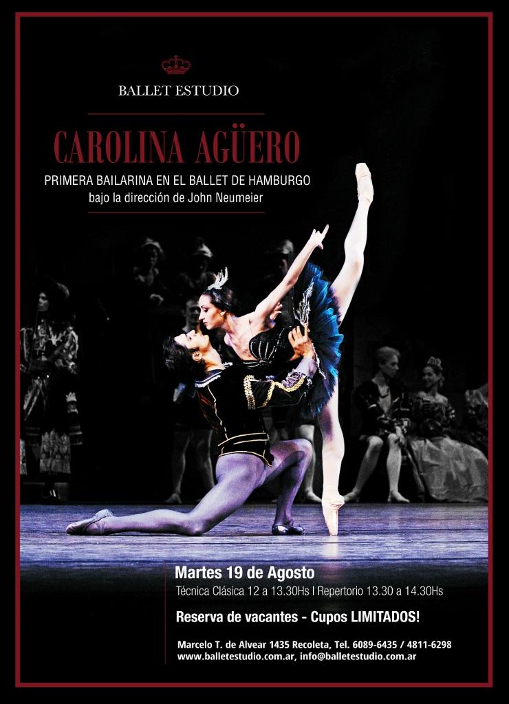Carolina Agüero en Ballet Estudio
