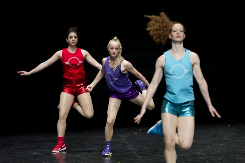 """Aerobics!"", de Paula Rosolen. Foto: Laurent Philippe."