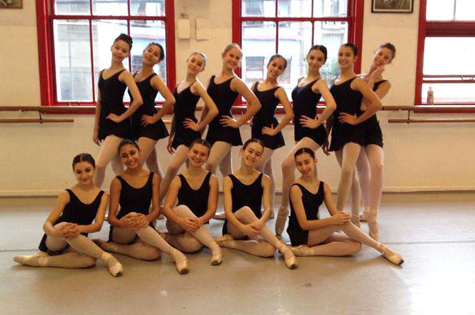 Tapa Ballet estudio ISA