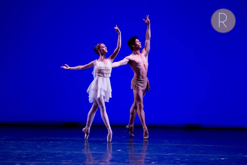 Herman Cornejo, junto a la joven Lauren Lovette, solista en el New York City Ballet. Foto: Agustín Mangialavori para REVOL.