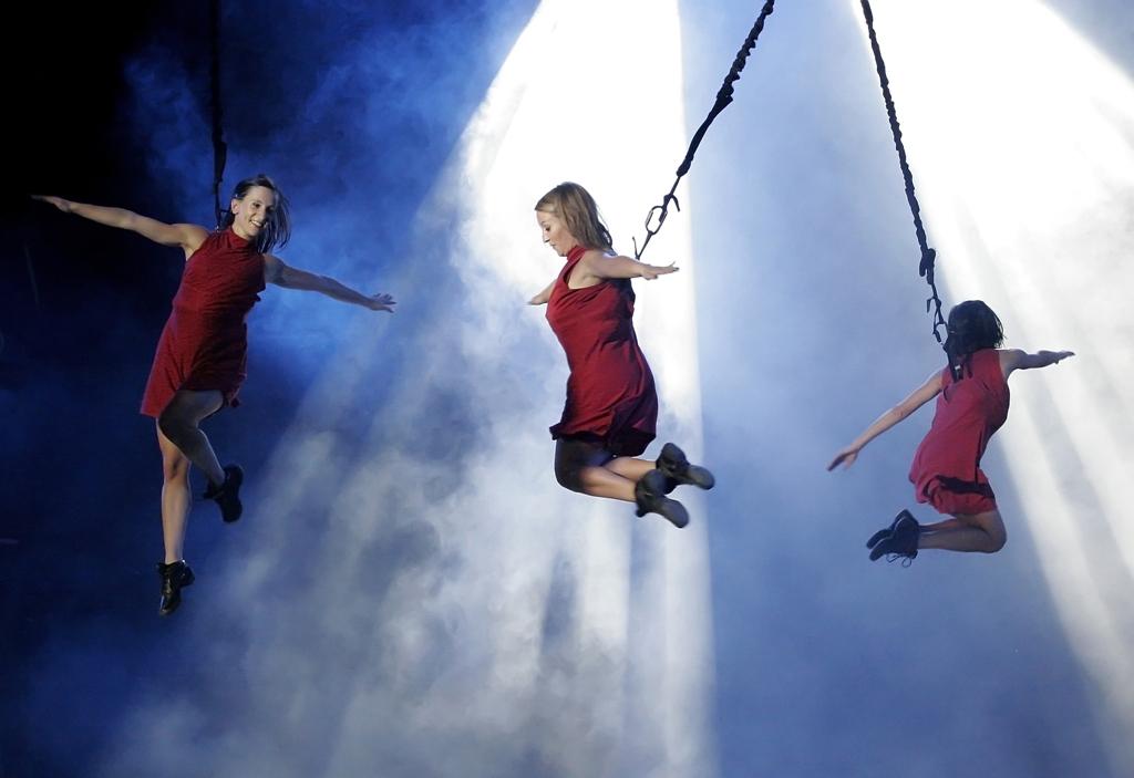 Pasó volando, 20 años con la danza aérea @ Aérea | Buenos Aires | Ciudad Autónoma de Buenos Aires | Argentina