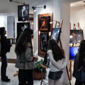 Muestra de fotos en la gira del BMBA. Foto: Carlos Villamayor.