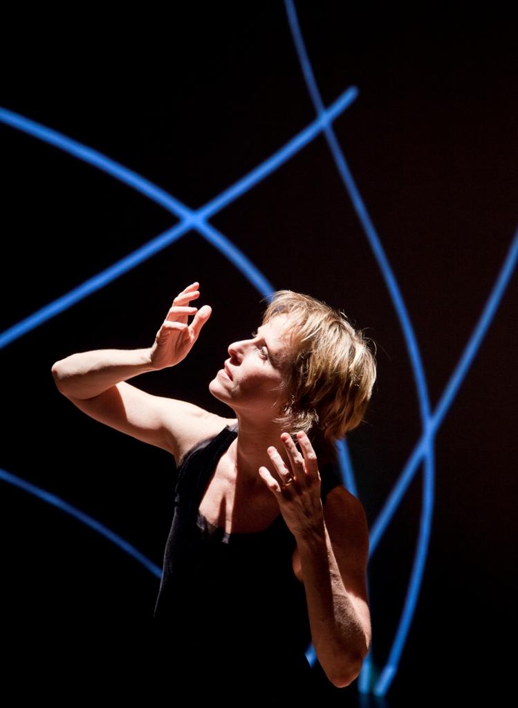 Deborah Colker, en su interpretación de la obra de Pushkin. Foto: Walter Carvalho.