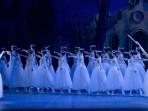 Giselle 2014, en el Teatro Colón: Nadia Muzyca y Edgardo Trabalón (Ph: M. Parpagnoli)