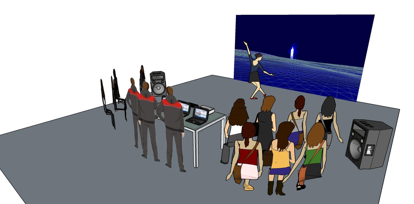 Cómo se arma el espacio en Speak. Foto: Gentileza Speak.