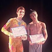 Victor Goncalvez Caixeta, de 15 años, y Marcos Vinicius Souza Silva, de 16 años, pre-seleccionados para viajar becados al Prix de Lausanne. Foto: REVOL.