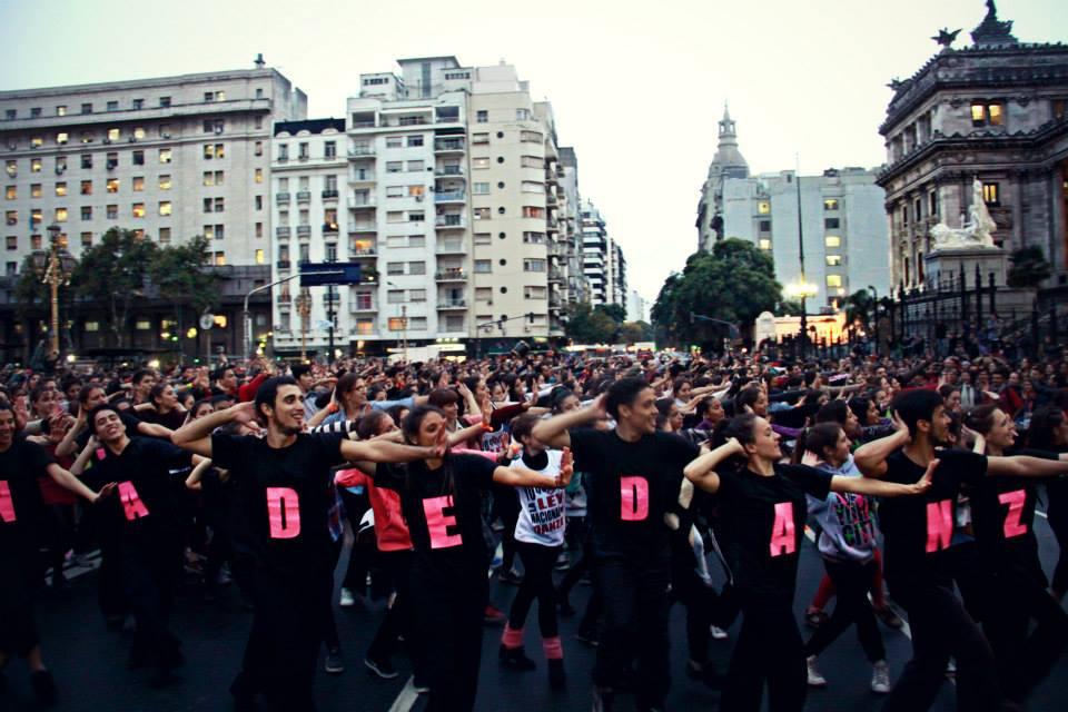 Flashmob el 29A. Foto: Erica Ventre.
