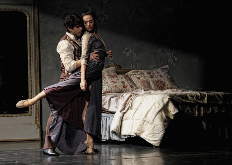 Herman Cornejo y Alessandra Ferri, dos bailarines de excpeción, que proponen una interpretación bella y profunda. Foto: Gentileza Raquel Flotta Prensa.