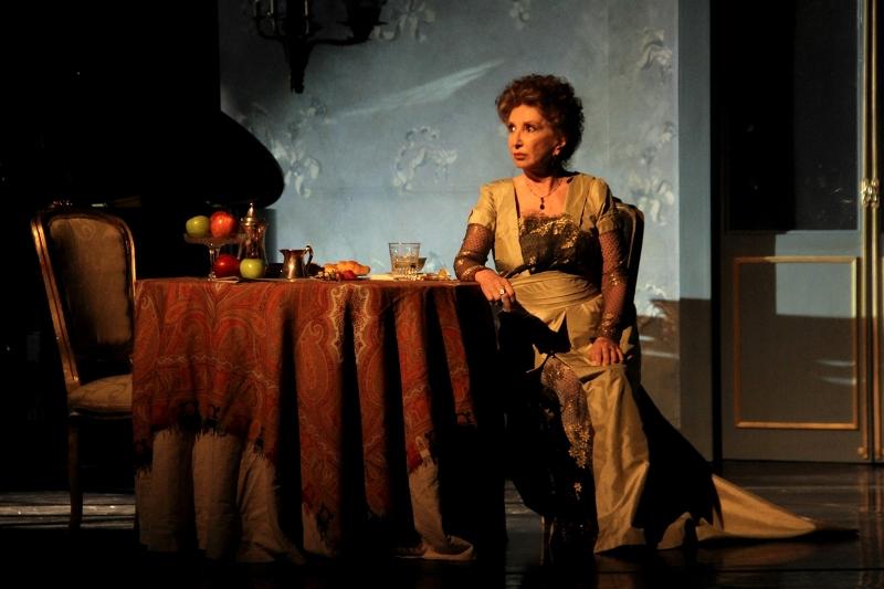 Norma Aleandro, como Charlotte, la madre de Chéri. Foto: Gentileza Raquel Flotta Prensa.