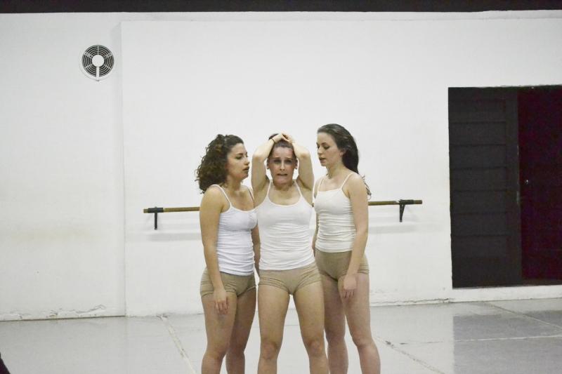 """""""Lo que no querés ver"""", revisa la danza y sus estructuras. Foto: Sabrina Burgos."""
