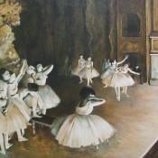 Pintura de ballet 2- Degas