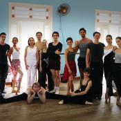 Ensayo del ballet del Teatro Colón, en Cuba. Foto: Magalí Paz.