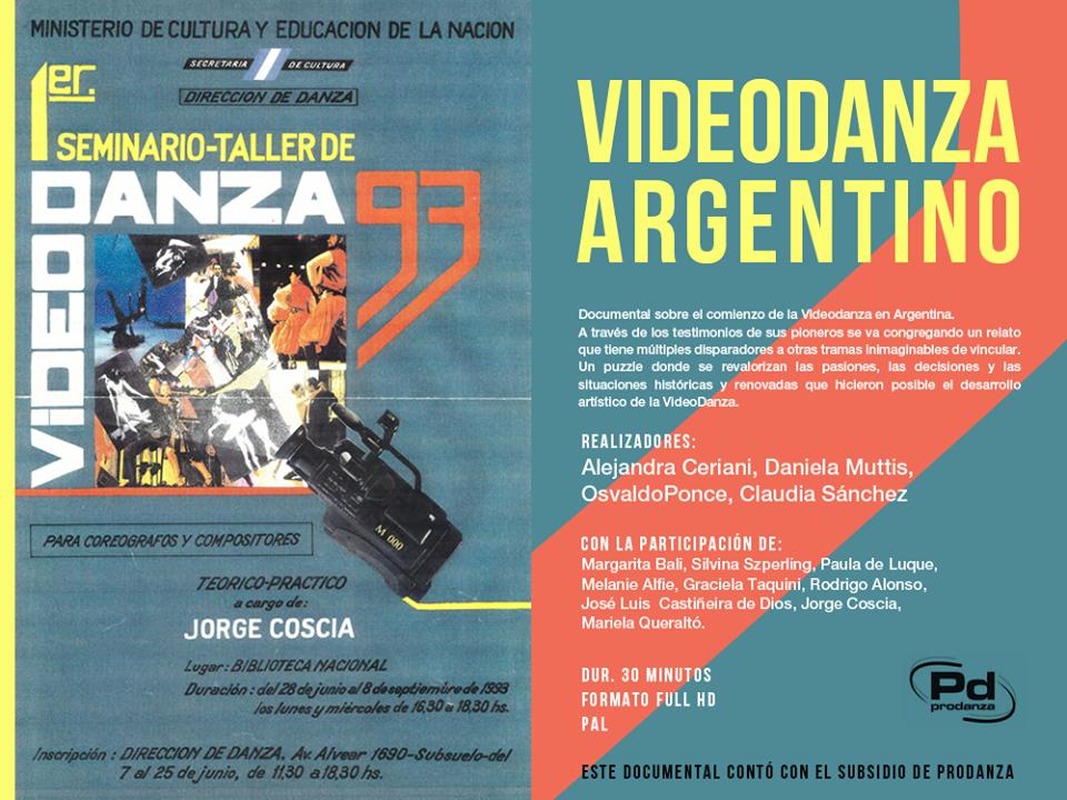 Videodanza argentino
