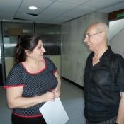 Oscar Araiz y Laura Chertkoff