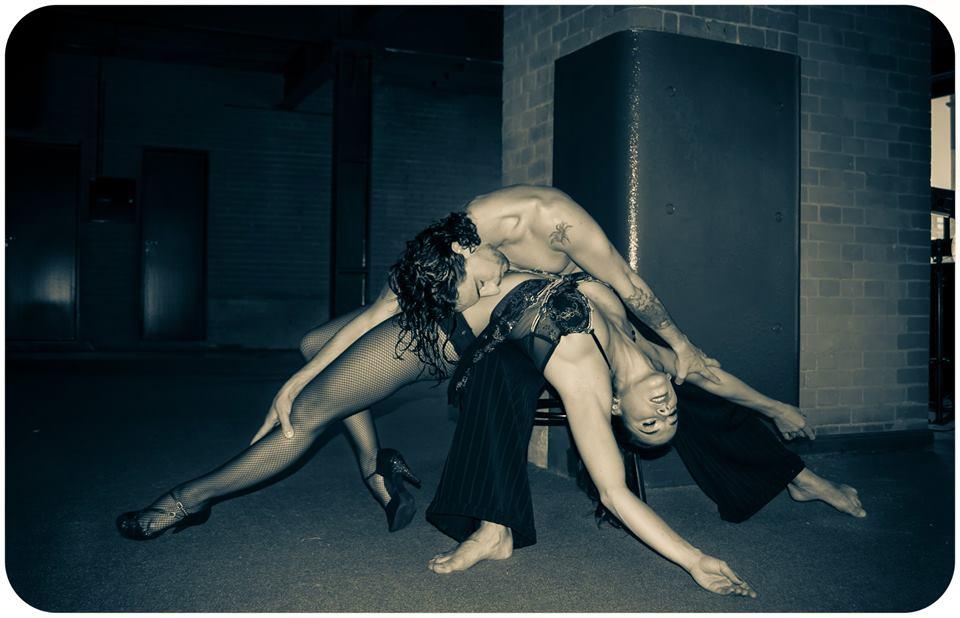 Paola Jean Jean y Nicolás Cobos. Foto: Gentileza Asociación Arte y Cultura.