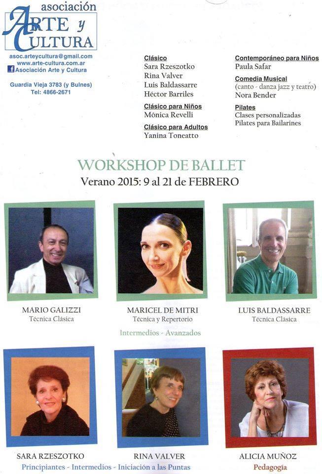 Workshop Febrero Arte y Cultura
