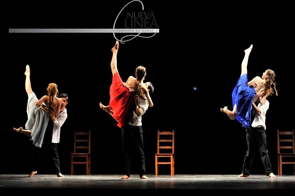 """Compañía de danza """"Nueva Línea"""", la apuesta de Sandra para profesionalizar el trabajo con sus alumnos. Foto: Gentileza Sandra Racedo."""
