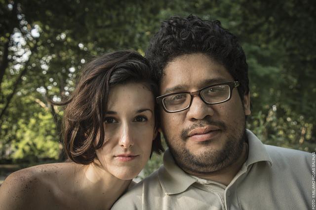 Soledad Madariaga y Daniel Arteaga. Foto: Emiliano Rojas Salinas.