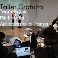 Taller multimedia tecnologia aplicada a la danza