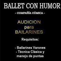 Ballet con Humor audicion cartelera