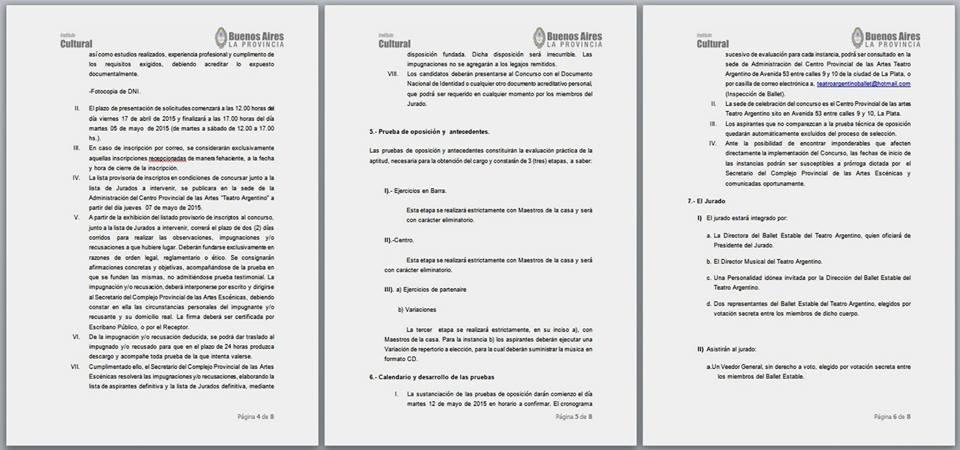 Bases y Condiciones Concurso La Plata 2