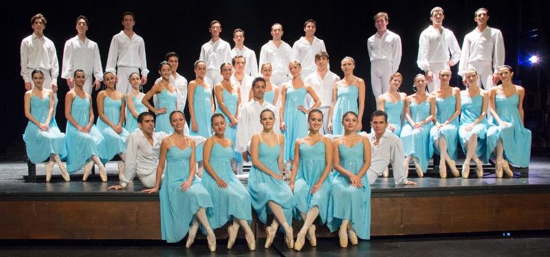Ballet Clásico de Salta, joven en todos los sentidos. Un cuerpo creado hace sólo 8 ochos, con integrantes que no superan los 32 años. Foto: Gentileza Ballet de Salta.