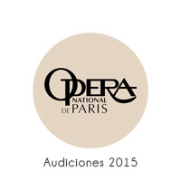 Opera de Paris Audiciones 2015
