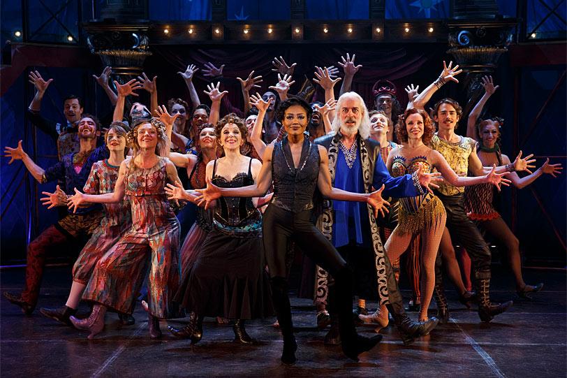 """""""Pippin"""", otro de los grandes musicales de Broadway. Foto: Gentileza Chet Walker."""