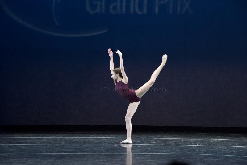 Victoria Papa, compitiendo en las finales en NYC, en 2015. Foto: Taylor Brandt.