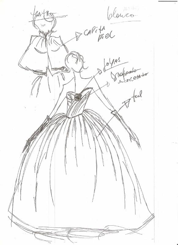 """""""Ropa de fiesta"""". Para """"La Traviata"""" realizaron los vestidos de gala. Foto: Gentileza."""