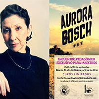 Aurora Bosch tapa
