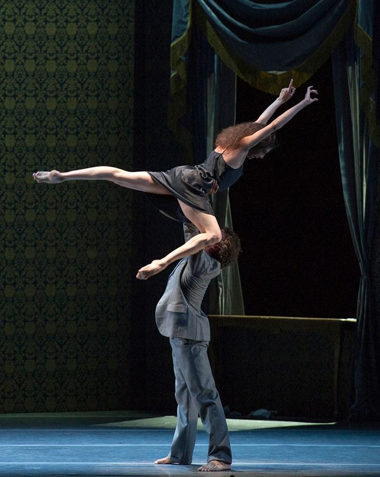 Bouchet y Jung en un Neumeier clásico. Foto: Máximo Parpagnoli.